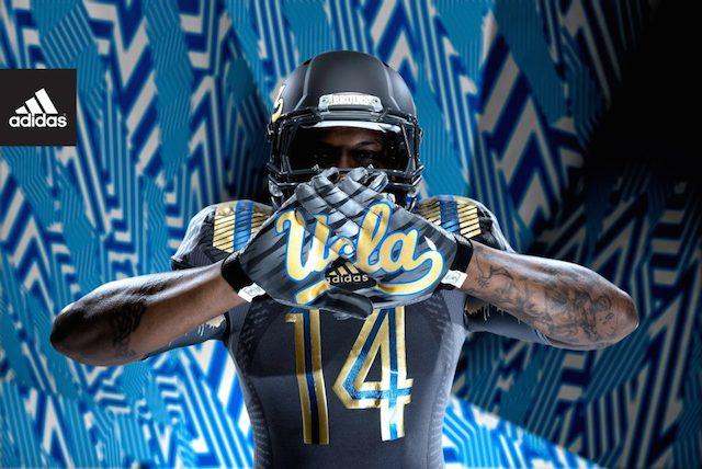 99bb54d94 LOOK: UCLA's new 'LA Steel' adidas uniforms for 2014 - CBSSports.com