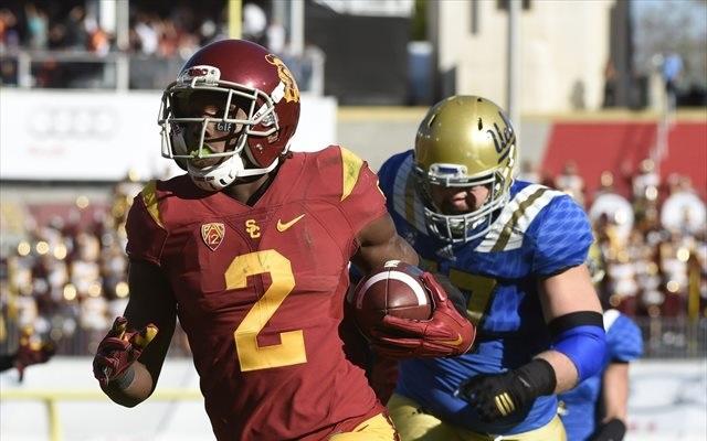 Adoree Jackson left UCLA in his dust. (USATSI)