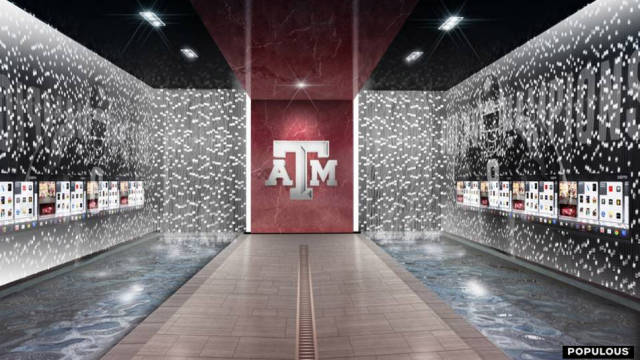 Photos Artist Renderings Of A Amp M S Revamped Bright Complex