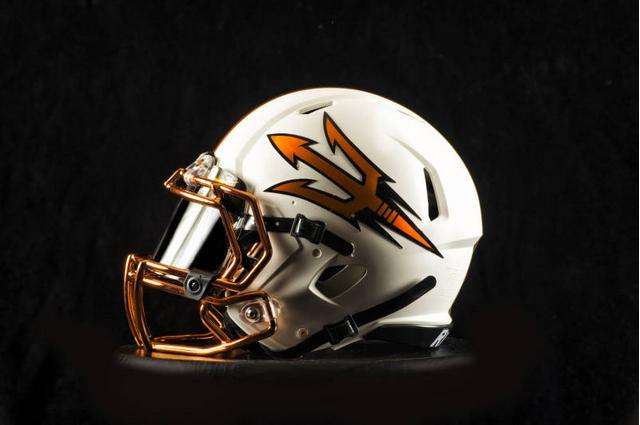 Arizona State copper uniforms.