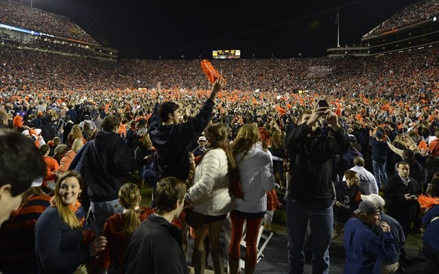Auburn's victory will have far-reaching polling implications. (USATSI)