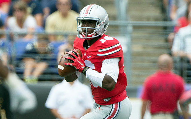 J.T. Barrett helps Ohio State open the season with a victory. (USATSI)