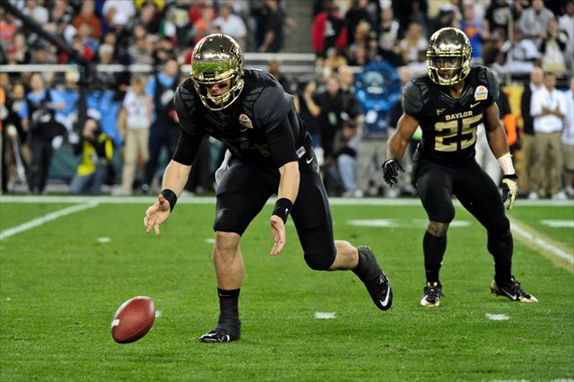 Things got away from Bryce Petty and Baylor at the Fiesta Bowl. (USATSI)