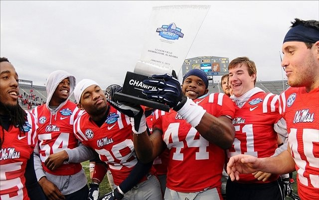 Come the 2014 season, there's going to be a different logo on this trophy. (USATSI)