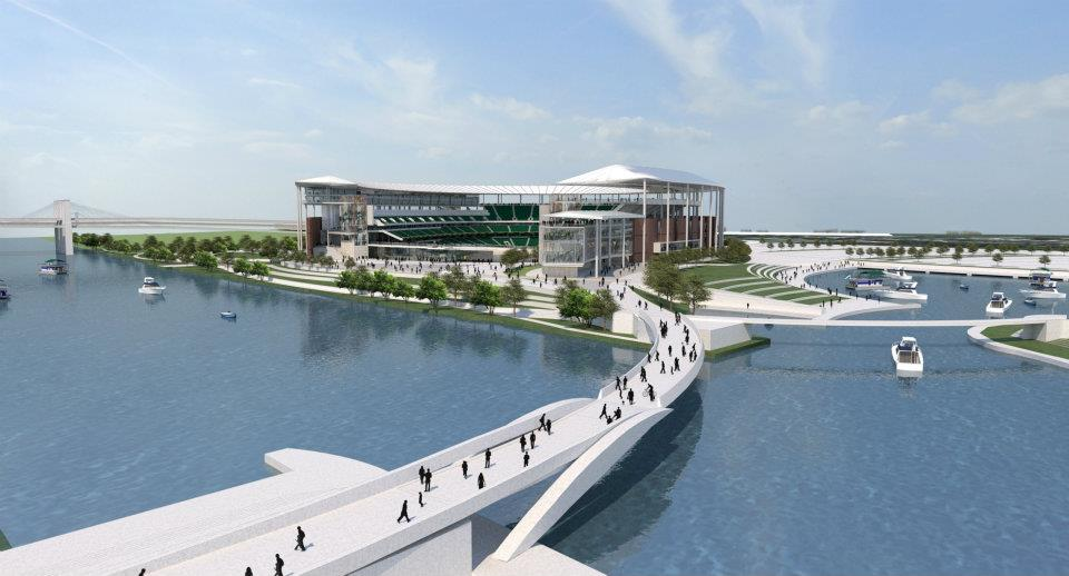 This 2012 rendering of Baylor's future stadium is still worth a second look. (Baylor Athletics)