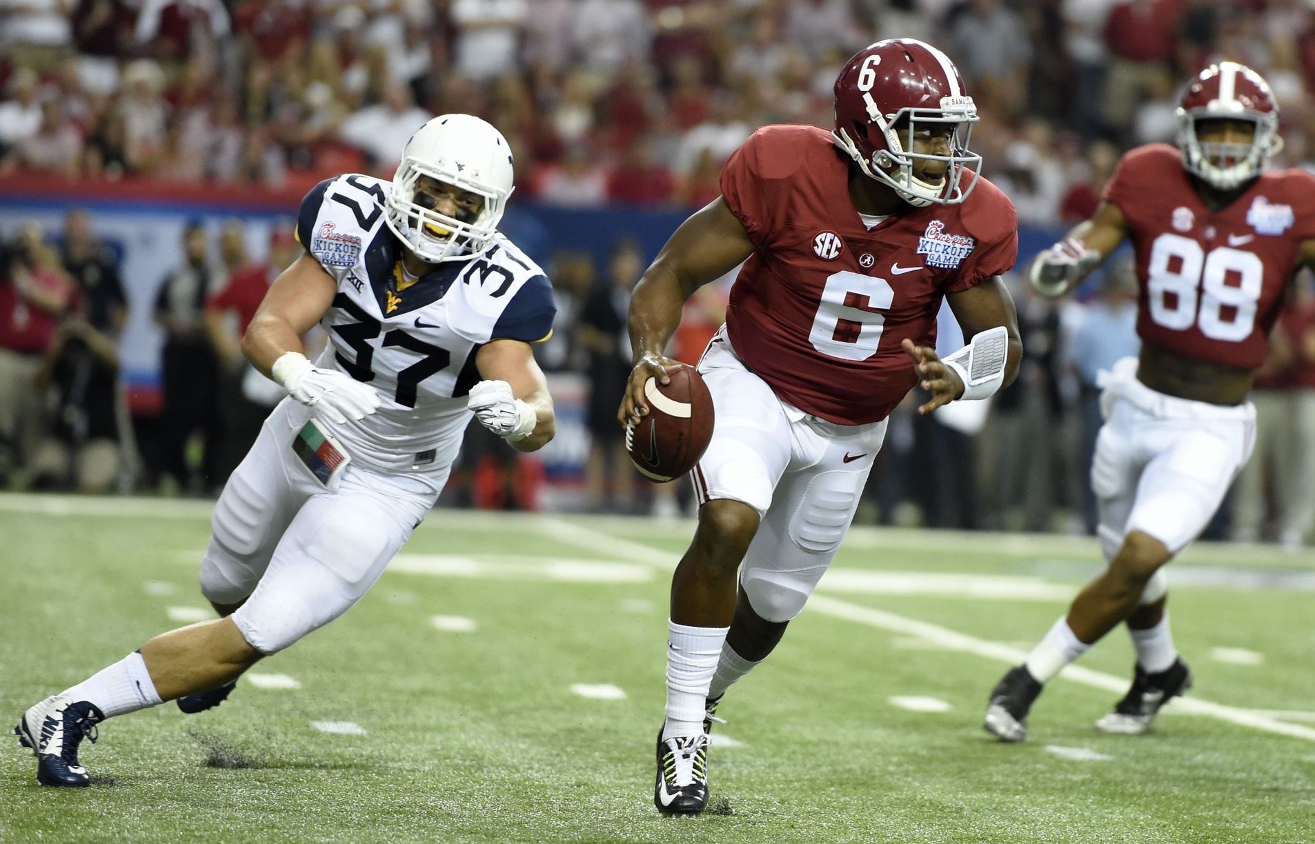 Blake Sims will have kept Alabama in the top 2. (USATSI)