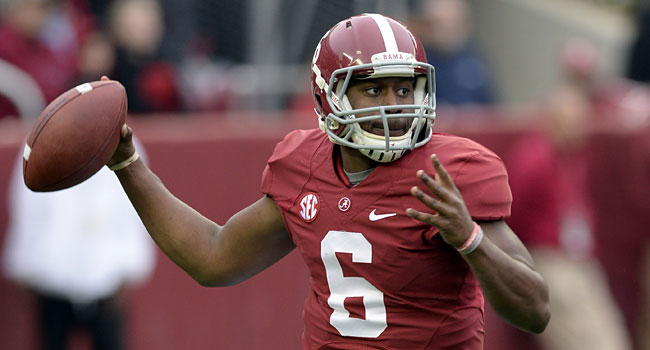 Fifth-year senior Blake Sims played some last year as a backup. (USATSI)