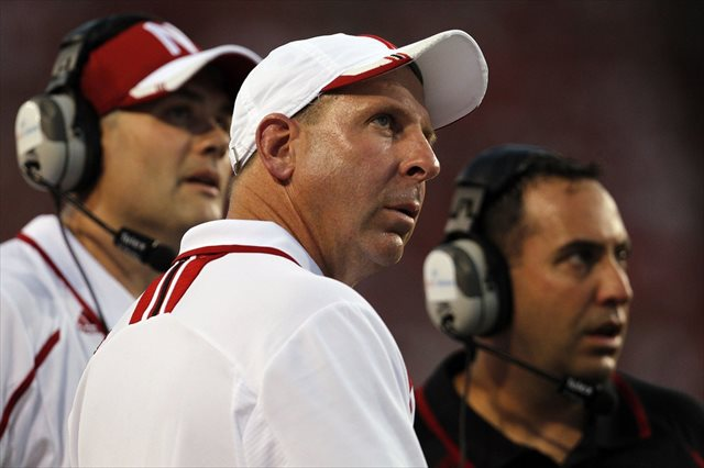 Bo Pelini says he is 'confident about his future' at Nebraska. (USATSI)