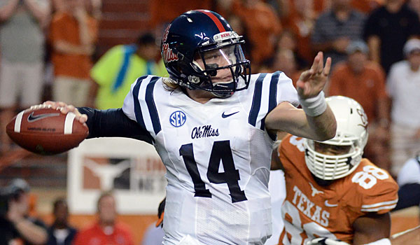 Bo Wallace and Ole Miss earned a huge win against Texas in September. (USATSI)