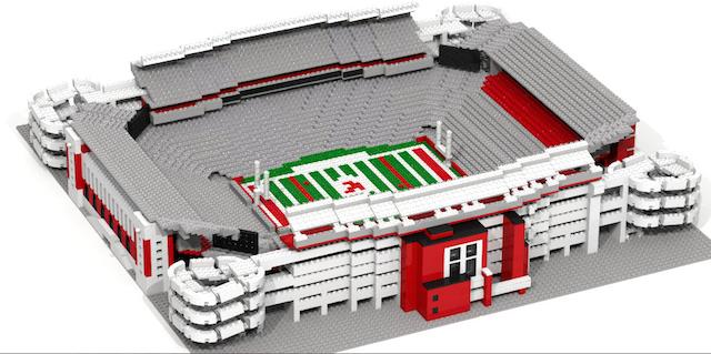 PHOTOS: You can buy stadium replicas made from Legos - CBSSports.com