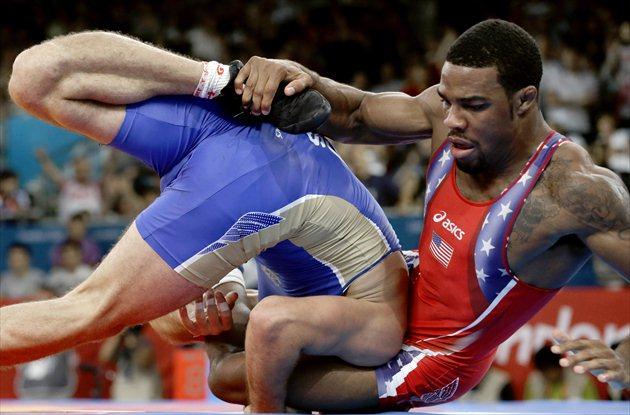 a4bd6a29fb1bf6 U.S. s Jordan Burroughs wins gold in 74 kilogram freestyle wrestling ...