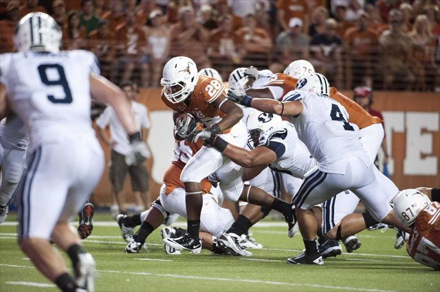 BYU and Texas are squabbling both on- and off-the-field in 2013. (USATSI)