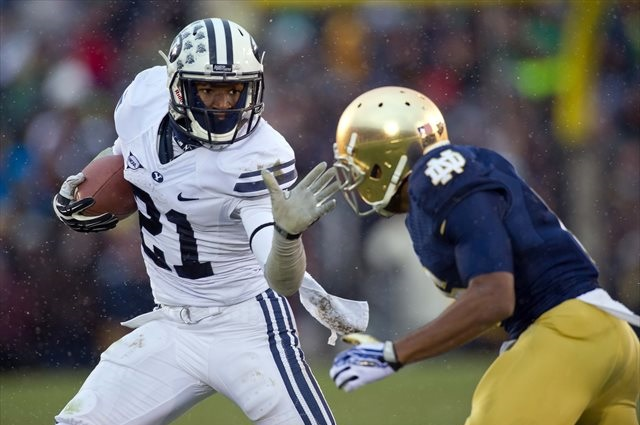 Jamaal Williams rushed for 1,233 yards in 2013. (USATSI)