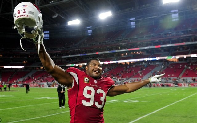 Calais Campbell played three seasons at (and graduated from) Miami. (USATSI)