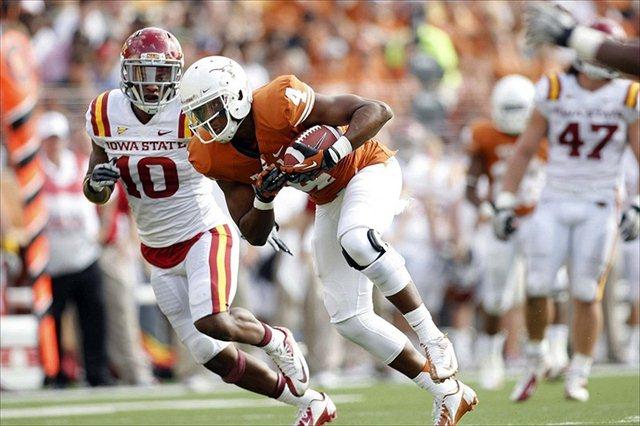 Cayleb Jones caught two passes in his true freshman 2012 season. (USATSI)