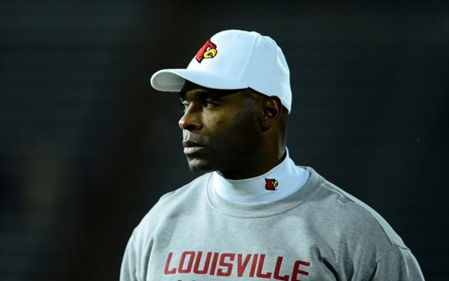 Charlie Strong has gone 36-15 at Louisville. (USATSI)