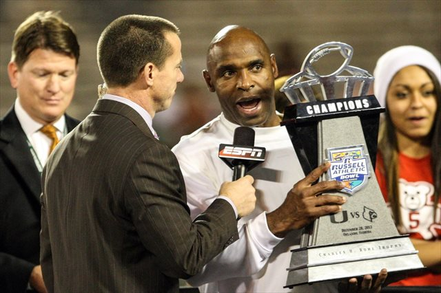 Charlie Strong is expected to be named Texas' next head coach.  (USATSI)