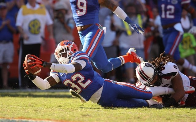 Chris Johnson made big plays for Florida on special teams in 2011 and 2012. (USATSI)