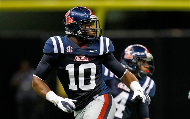 C.J. Johnson led Ole Miss in sacks in 2012. (USATSI)