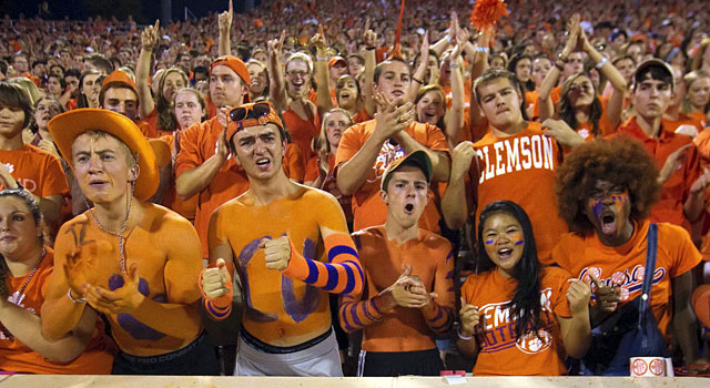c7517e54156 Clemson s attendance is one of the best in college football. (USATSI)