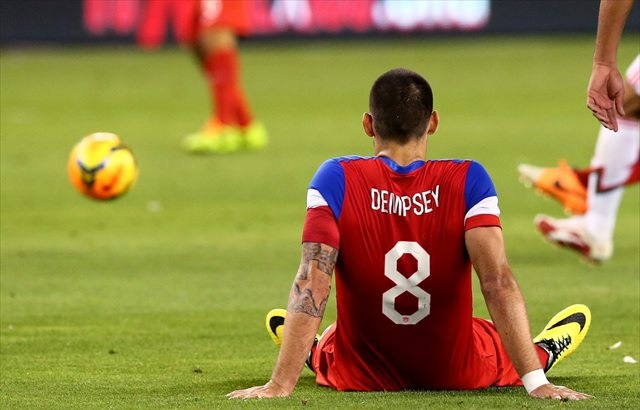 Clint Dempsey was announced in the starting lineup before a last-minute scratch. (USATSI)