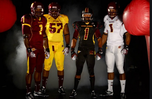 Central Michigan unveils new uniforms - CBSSports.com 3507a6a28