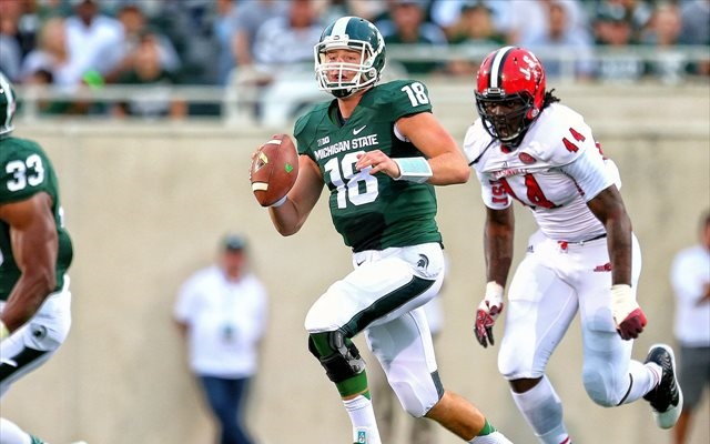Connor Cook said Tuesday he 'feels great' in practice for Oregon. (USATSI)