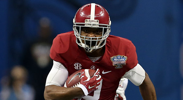Amari Cooper is back with a strong Alabama squad. (USATSI)