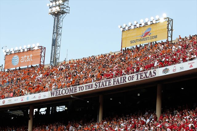 The Red River Showdown has been played in the Cotton Bowl since 1932. (USATSI)