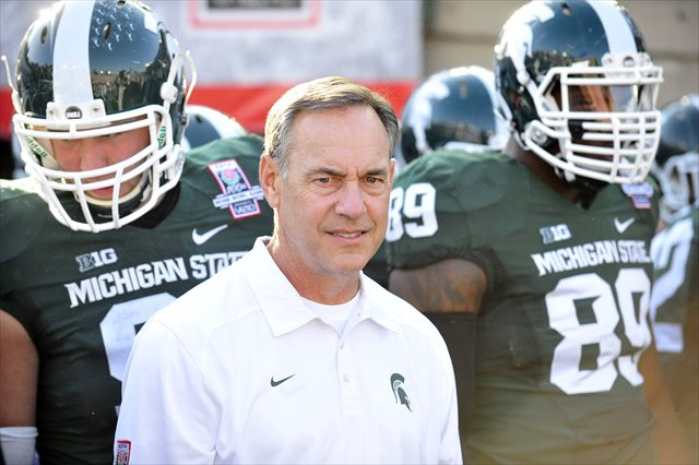 Mark Dantonio won Michigan State's first Rose Bowl since 1988. (USATSI)