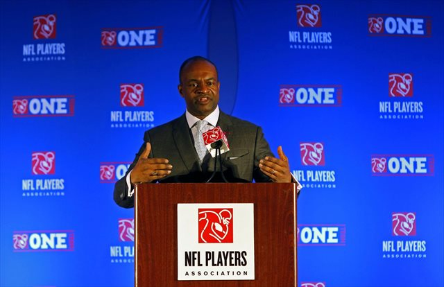 DeMaurice Smith says the NFLPA 'stands firmly behind' Kain Colter. (USATSI)