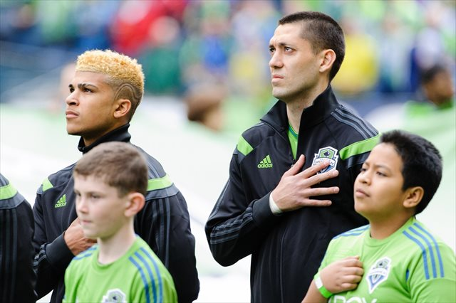 DeAndre Yedlin and Clint Dempsey are two reasons Seattle is the hottest team in MLS. (USATSI)