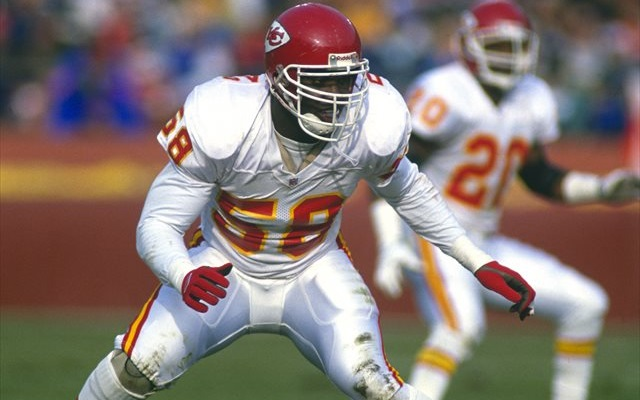 Derrick Thomas is already a member of the NFL Hall of Fame. (Getty Images)