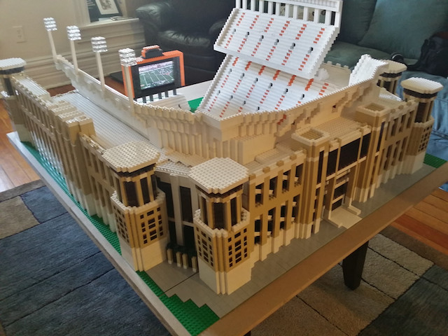Texas Memorial Stadium Lego