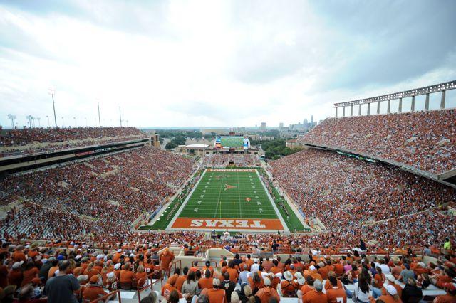 Darrell K. Royal Stadium currently seats 100,119. (USATSI)