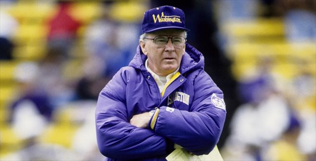 Don James coached 18 seasons at Washington. (USATSI)