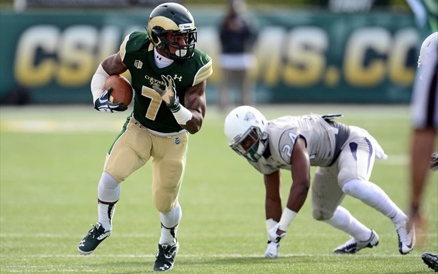 Donnell Alexander ran for 428 yards in 2013. (USATSI)