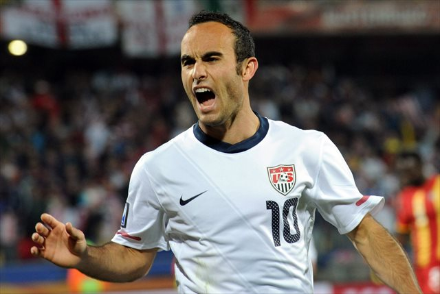 Donovan at the 2010 World Cup. (USATSI)