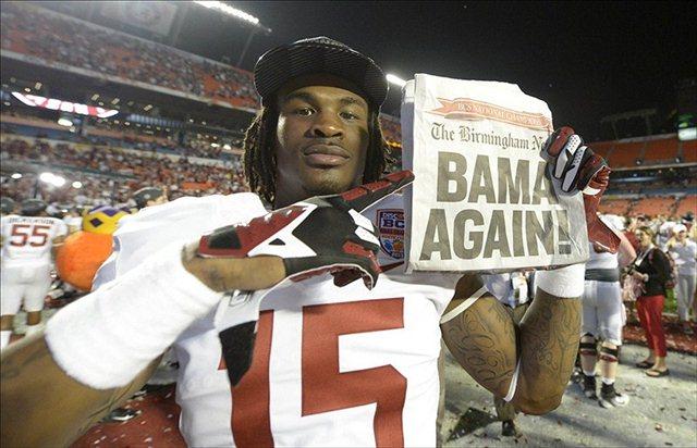 Eddie Williams won't be around to celebrate any more Alabama national titles. (USATSI)