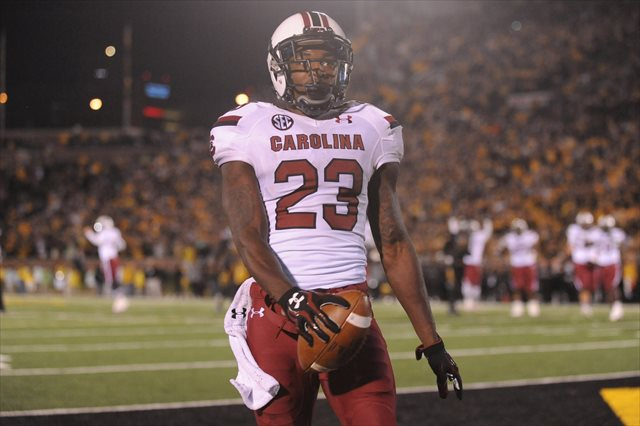 Bruce Ellington led the Gamecocks in receiving for a second straight season. (USATSI)