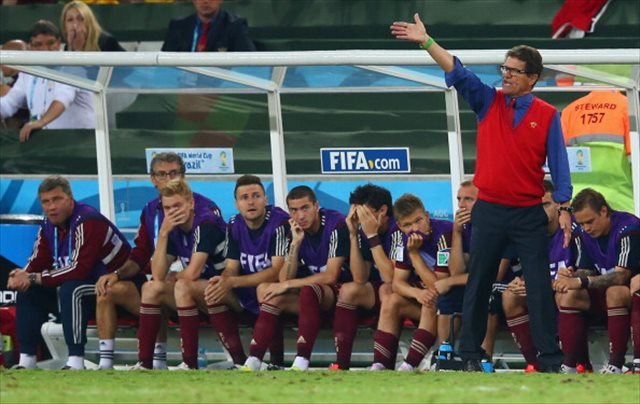 Fabio Capello couldn't point Russia into the Round of 16. (Getty Images)