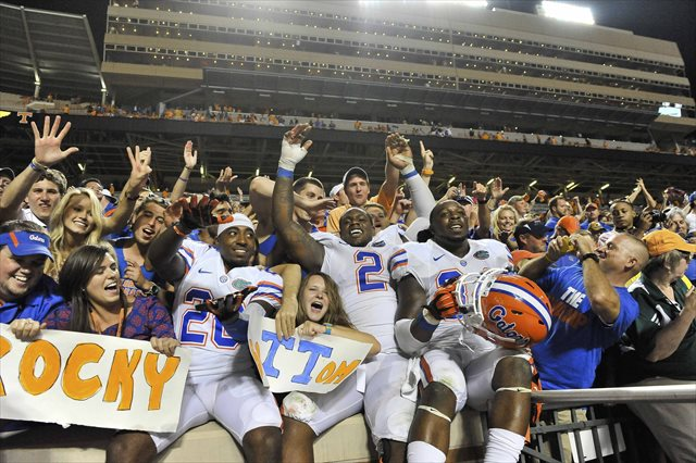 Will Florida be sitting pretty after the Tennessee game again in 2013? (USATSI)