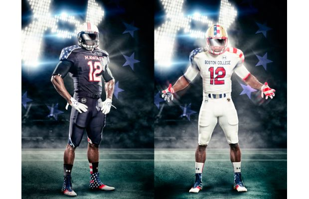 the latest 726aa bd241 PHOTO: Under Armour reveals 'Freedom Jersey' uniforms for ...