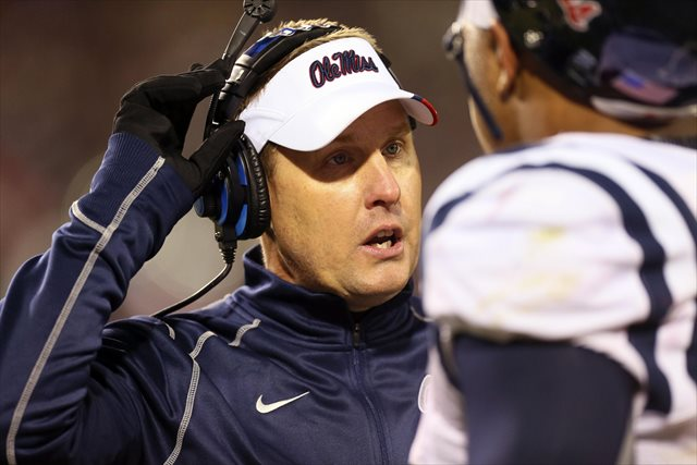 Hugh Freeze says the gay players he's coached were 'loved and respected.' (USATSI)