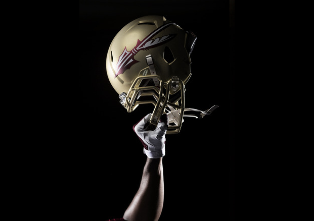 Photos florida state unveils new look for 2014 cbssports personally im in agreement with most florida state fans when it comes to the new logo i dont like it and i dont think it was all that voltagebd Choice Image