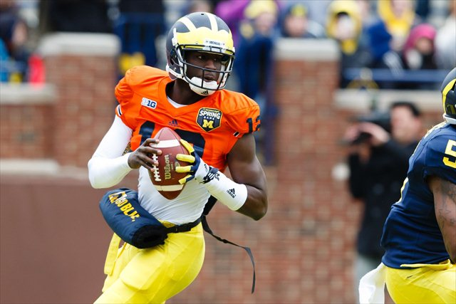 Devin Gardner is highly confident in Michigan' chances in 2013. (USATSI)