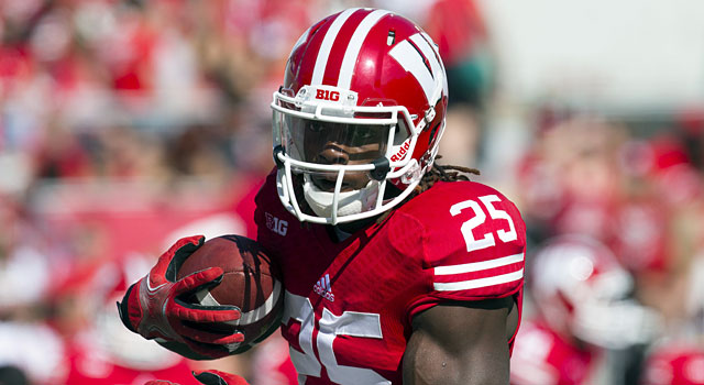 Melvin Gordon and Wisconsin will face LSU in Houston. (USATSI)