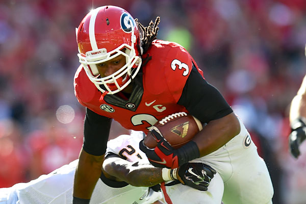 Georgia RB Todd Gurley suspended indefinitely