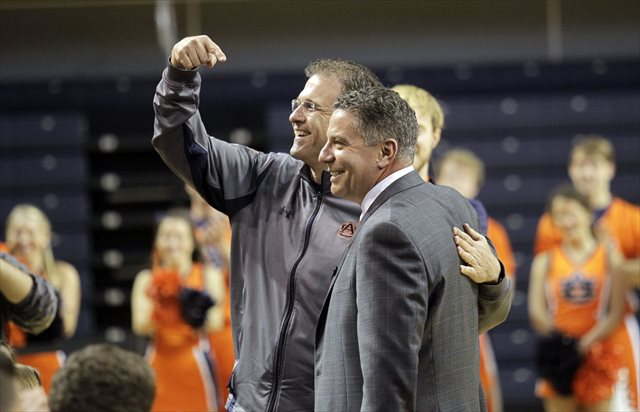 Gus Malzahn is likely happy to share the offseason focus with Bruce Pearl. (USATSI)