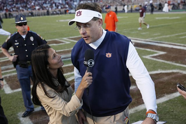 Gus Malzahn is a Coach of the Year candidate. (USATSI)